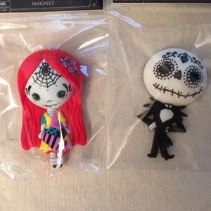 2 Disney Nightmare Before Christmas Magnets